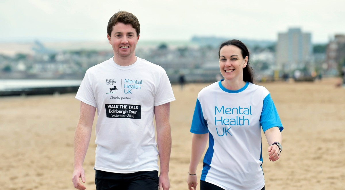 Walk the Talk Edinburgh - Lloyds Banking Group colleagues open up about mental health