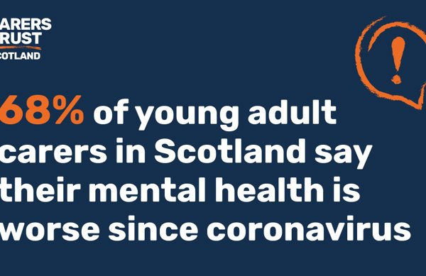 Survey shows decline in young carers' mental health during coronavirus crisis