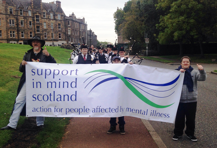 Donate to Support in Mind Scotland