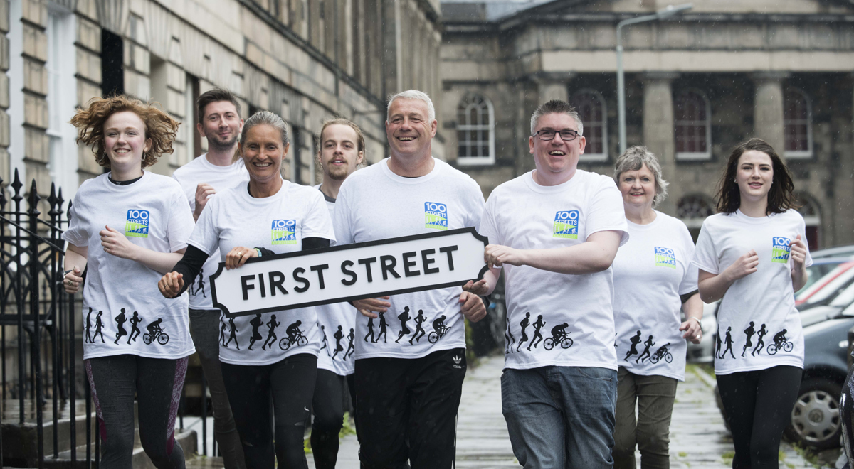 Scott and Jenny Hastings step up for 100 Streets Challenge