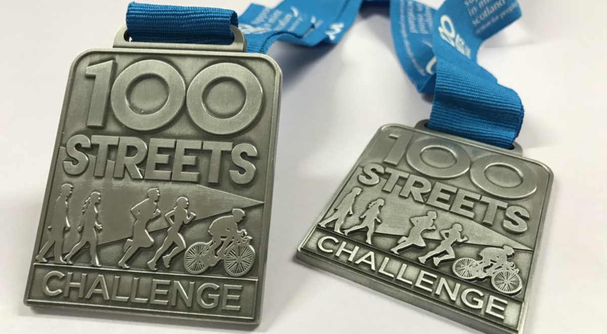 Free places in 100 Streets Challenge and Great Scottish Run & Walk Festival