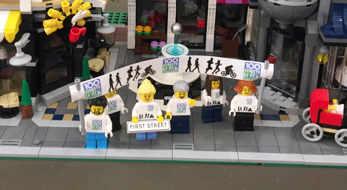100 Streets Challenge celebrated in LEGO®