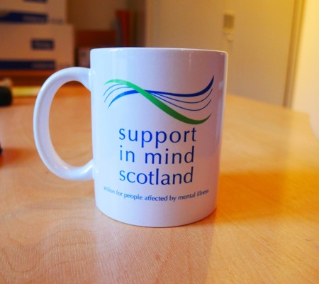 Support in Mind Scotland Tartan Mug