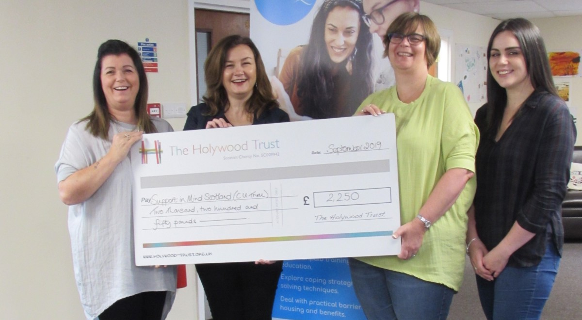 Hooray for Holywood! Trust makes generous grant to CU Thru project